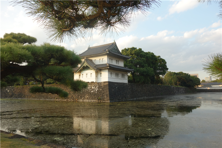 tokyo-2015 5472 Imperial Palace in twilight-crop-v2.JPG
